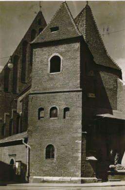 [Kościół św. Marka w Krakowie] :: Jan Bulhak Collection :: Digital Collections :: University at Buffalo Libraries. Click the image to visit the University at Buffalo Libraries Digital Collection and learn more about the photograph. #ublibraries #polishroom #JanBulhak #Poland #churches