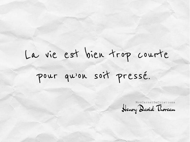 La vie est bien trop courte pour qu'on soit pressé. ✒️ Henry David Thoreau #citation #quote  #inspiration #motivation #positive #instagood #instamood #sagesse #penseedujour #optimisme #happiness #bienveillance #henrydavidthoreau