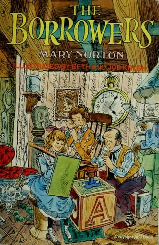 "Mary Norton's ""The Borrowers""  http://www.optionated.com/wp-content/uploads/2012/02/the-borrowers.jpg"