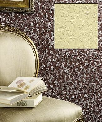Arlene Acanthus Paintable Embossed Walls  [PAINT-6703] Paintable Wall Paper and Panels | DesignerWallcoverings.com ™ - Your One Stop Showroom for Custom, Natural, & Specialty Wallcoverings | Largest Selection of Wall Papers | World Wide Showroom | Wallpaper Printers