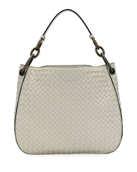 927ffcab08d1 Bottega Veneta Small Loop Intrecciato Woven Hobo Bag | LOVE BAGS ...