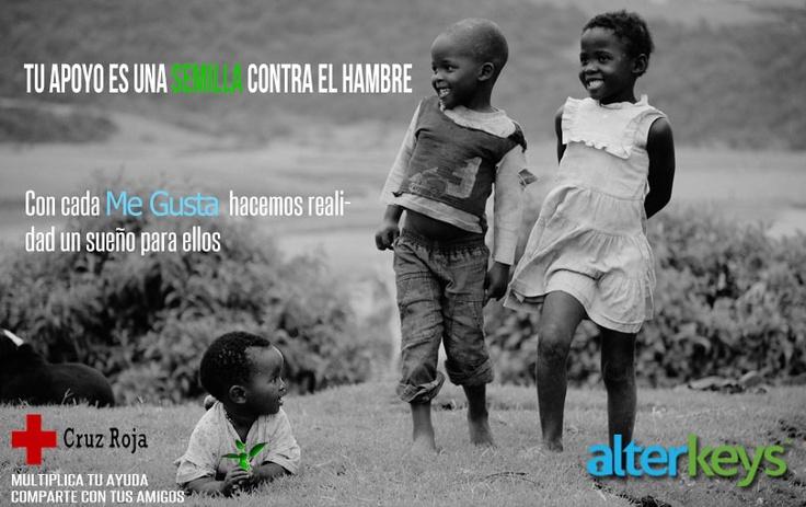 #Concurso #solidario Ayúdanos con tu Me gusta a donar a la Cruz Roja en Níger. Gracias a este pequeño gesto entras en el #sorteo de un #viaje a #Londres. Participa ya!! http://on.fb.me/13l03qj