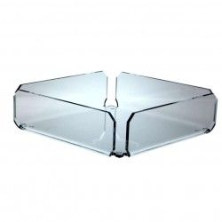 Porta tovaglioli plexiglass trasparente