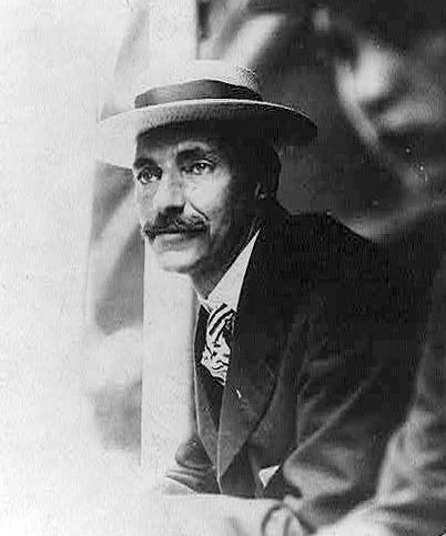 """Photo: John Jacob Astor IV in 1909. He was the wealthiest person aboard the Titanic. Credit:  Library of Congress, Prints and Photographs Division. Read more on the GenealogyBank blog: """"Honeymooning on the Titanic"""" https://blog.genealogybank.com/honeymooning-on-the-titanic.html"""
