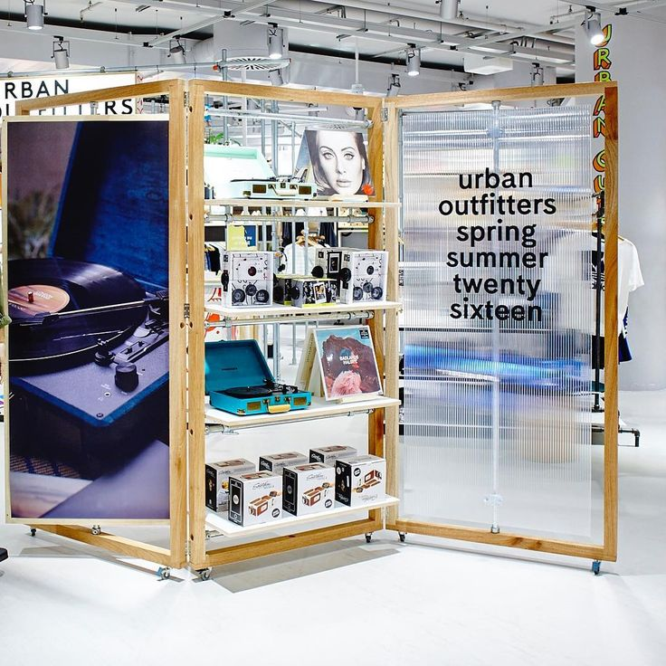 "LA RINASCENTE,Milan,Italy, ""Amplify your style with Crosley Radio!.....Find it at Urban Outfitters Corner"", pinned by Ton van der Veer"