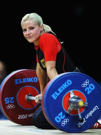 Julia Rohde (GER) - halterofilismo  Foto: Getty Images