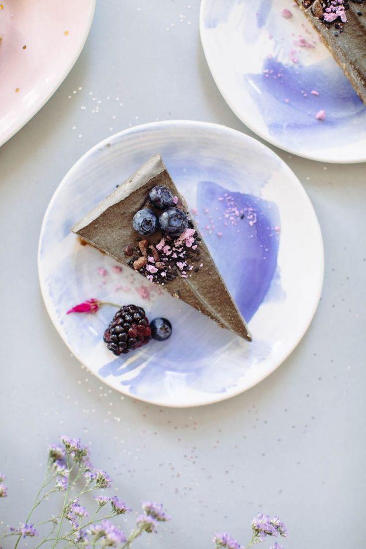 Black Sesame Cheesecake   Nutrition Stripped   Sweet + Dessert #healthy #cheesecake #dairyfree