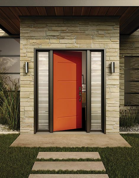 Vog / Steel - Design series / Entrance door by Novatech & 47 best NovaTech images on Pinterest | Patio doors Patios and Doors