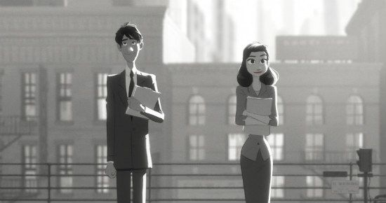 """Disney's Oscar-nominated animated short """"Paperman"""" is the most romantic movie of the year, and available to watch online in its entirety."""