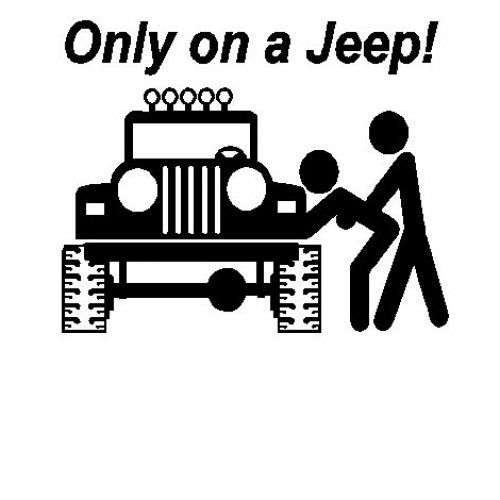 Only on a jeep sex