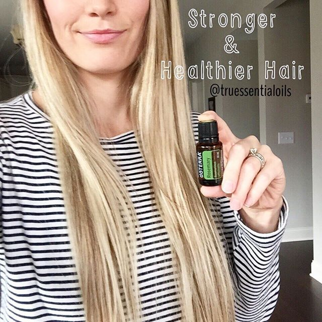 Okay! Who wants a natural remedy for healthier, longer, and thicker hair?? Rosemary essential oil you guys!!! Essential oils are a great way to naturally cleanse, nourish, and strengthen hair follicles. Rosemary promotes hair growth as well as protects treated hair from damage. I apply 2-3 drops in my shampoo or directly massage it on the scalp. I also started putting 1 drop in my mascara for longer lashes! Its amazing  #longhair #hair #salon #makeup #naturalhair #healthymom #healthyhair