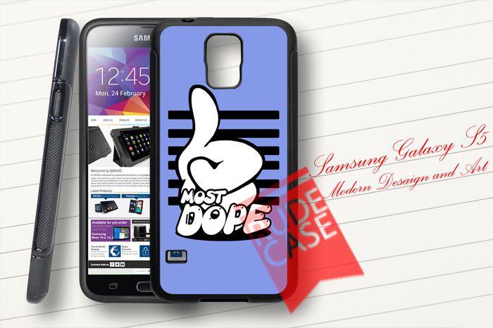 Samsung Galaxy S5 Custom Mac Miller Most Dope Rubber Case