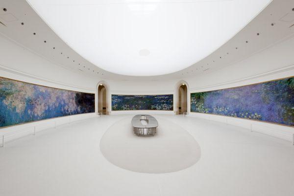 "Claude Monet's ""Water Lilies"", Musee de l'Orangerie, Paris - absolutely amazing in person"