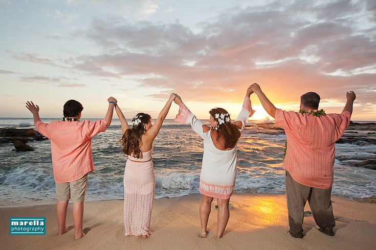 Beach Vow Renewal Ceremony: 50 Best Images About Aulani Disney Resort Family Portraits