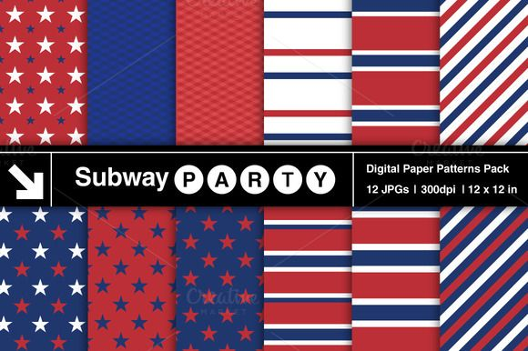 Montreal Hockey Team Patterned Paper by SubwayParty on Creative Market