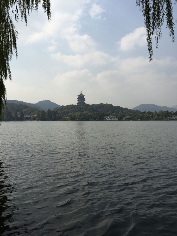 West Lake in Hangzhou, China.