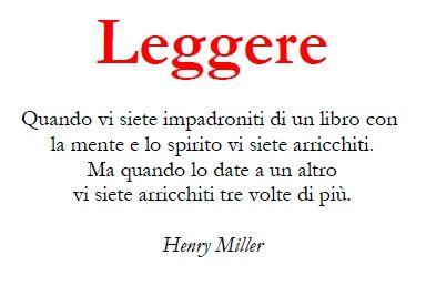 Leggere - Einaudi (Miller)