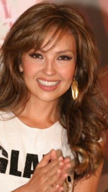 Thalia Actress Singer Long Hair Styles Hair Thalia