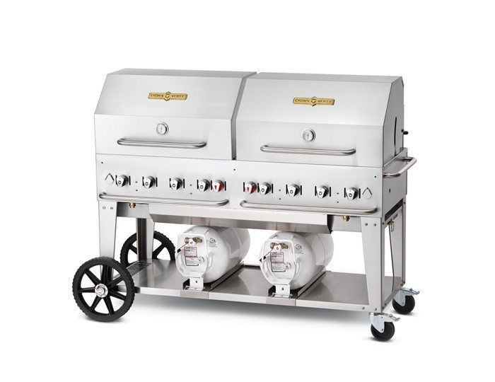 """60"""" Club Grill - Roll Dome Package - Available in 60"""" and 72"""""""