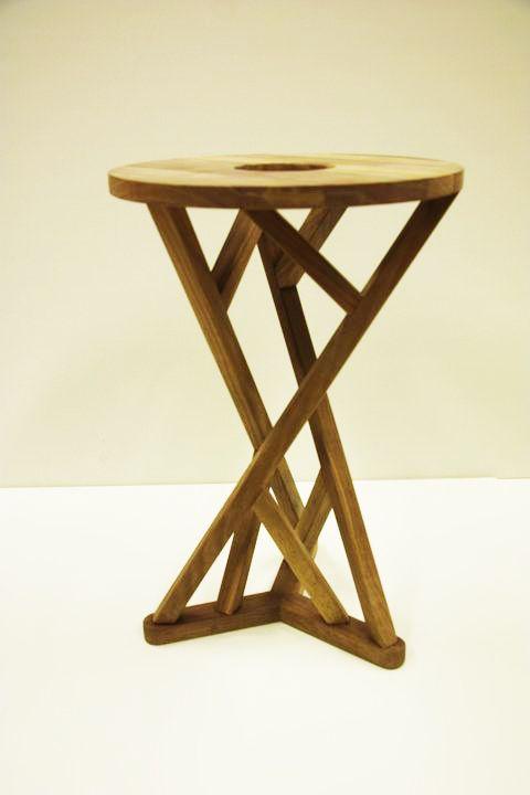 """Twist"" stool by Caroline Langfeldt Carlsen 2011"