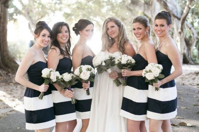 1000 Ideas About Beige Bridesmaid Dresses On Pinterest: 1000+ Ideas About Striped Bridesmaid Dresses On Pinterest