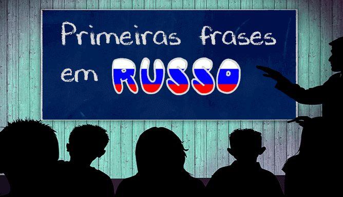 primeiras frases em russo