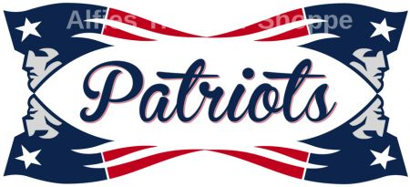 "New England Patriots - Iron On Heat Transfer 10"" x 4.5"", Crafts :: Other Crafts :: Bullszi.com"
