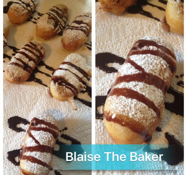 Deep Fried Twinkies! on Blaise the Baker