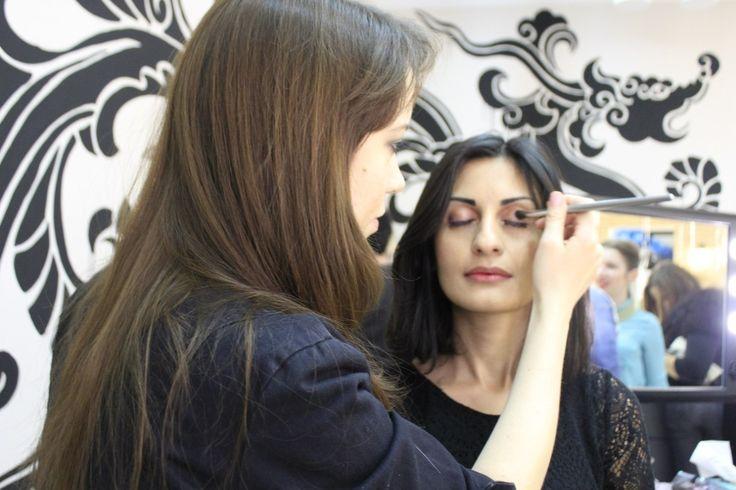 Открытие пространства Domini Q. 25 октября. Создание макияжа.
