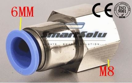 43$  Watch more here - Free Shipping 50pcs/lot APCF PCF 6mm-M8 Pneumatic 6MM Tube Push In M8 Female Straight Air Fitting Connector PCF 6-M8   #magazineonline