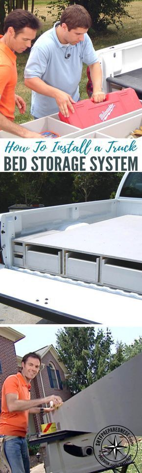 How To Install a Truck Bed Storage System — If you're a homesteader, you are probably used to having plenty of fix-it or build-it projects around the property.  Hauling your tools and supplies back and forth can be a major pain, and adds a lot of time to any task.