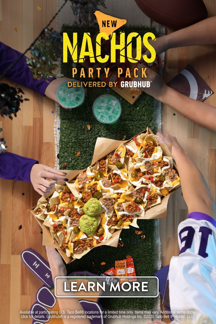Taco Bell Party Packs Superbowl Party Food Food Diner Recipes