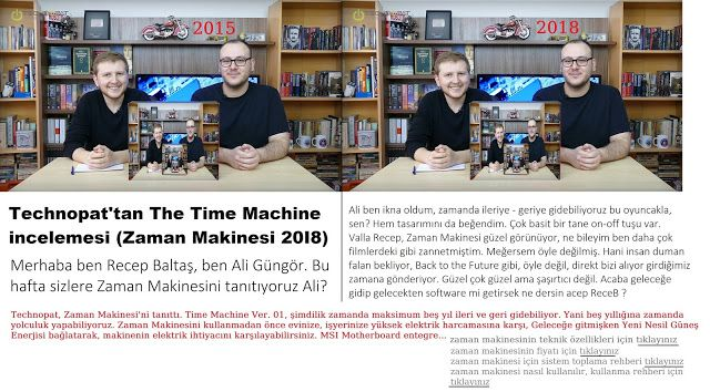 The Time Machine (ZamaN Makinesi)