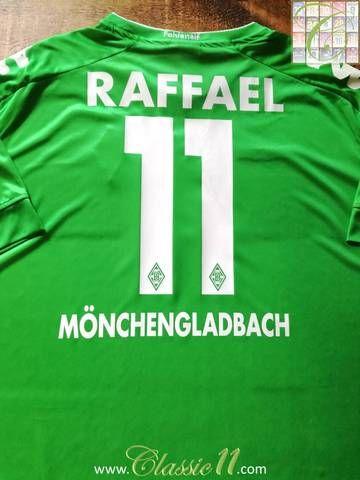 Official Kappa Borussia Monchengladbach away football shirt from the 2016/17 season.