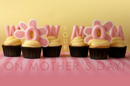 Candy Melts Mother's Day Cupcakes