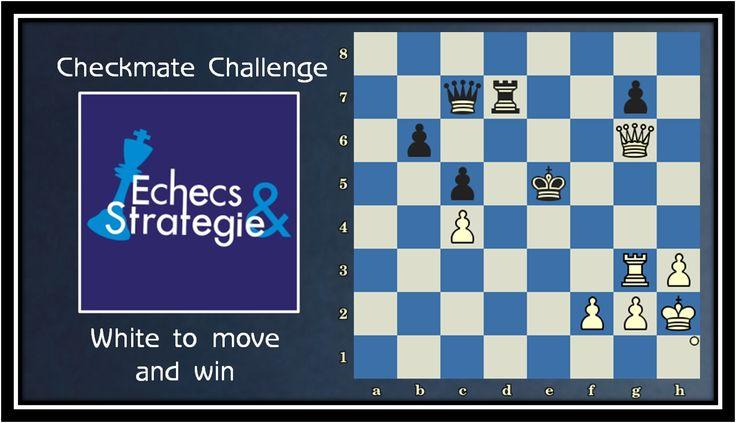 Daily Chess Improvement Level ★☆☆ White mates in 3. Marie Sebag vs Viktorija Cmilyte, Gaziantep, 2012 #echecs #chess #ajedrez www.jouer-aux-echecs.com