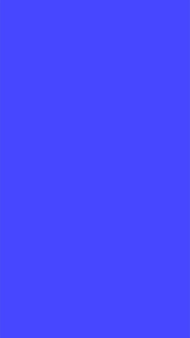 Plain blue wallpaper for iPhone 5/6 plus Simple iPhone