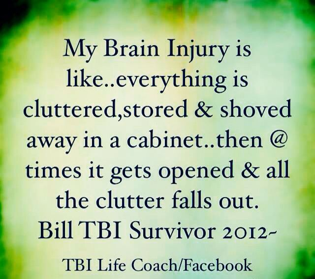 Words from :Brain Injury Survivors
