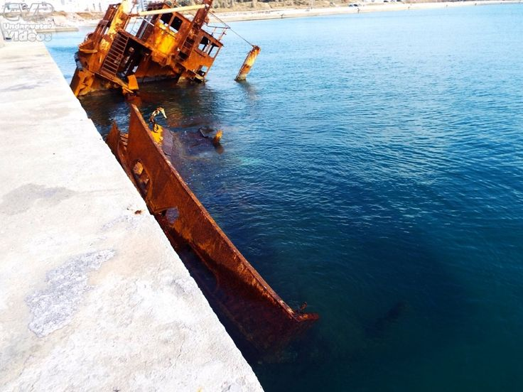 "Underwater Videos by CVP: Shipwreck Dive Boat ""Poseidon"""