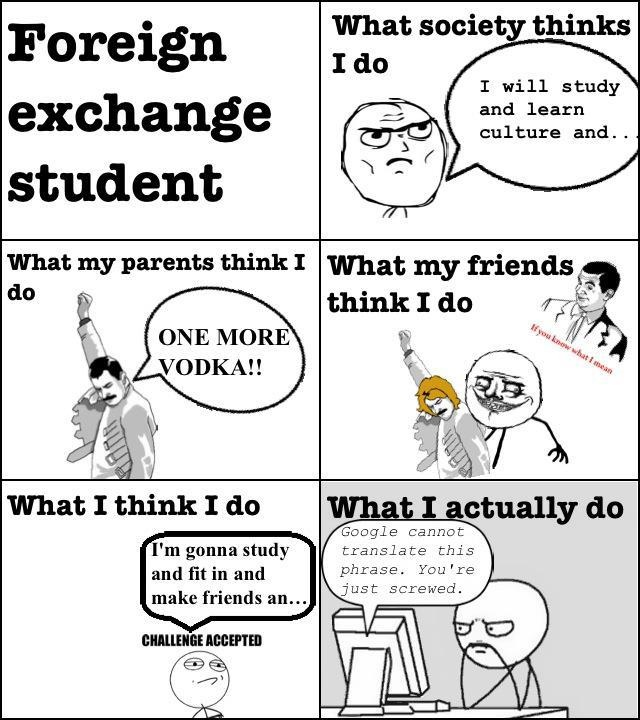 how to prepare for foreign exchange student
