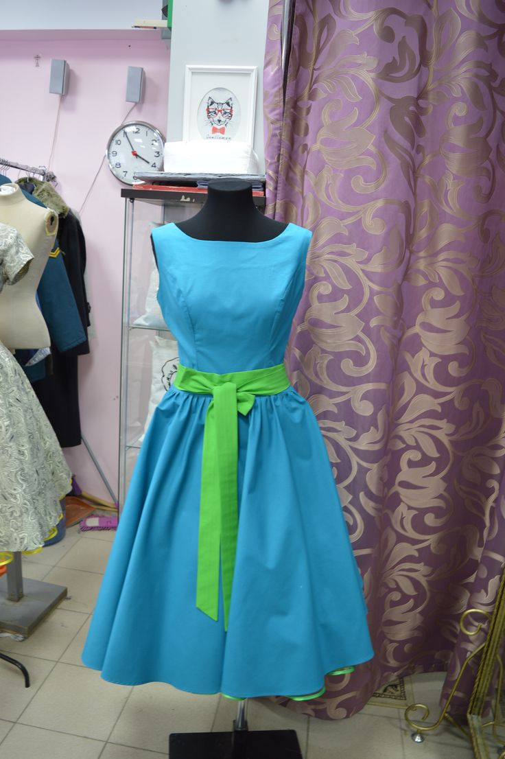 Винтаж Тренд – платья для Стиляг в стиле Ретро. Индивидуальный пошив строго по меркам клиента.  Ткань американский хлопок 100%
