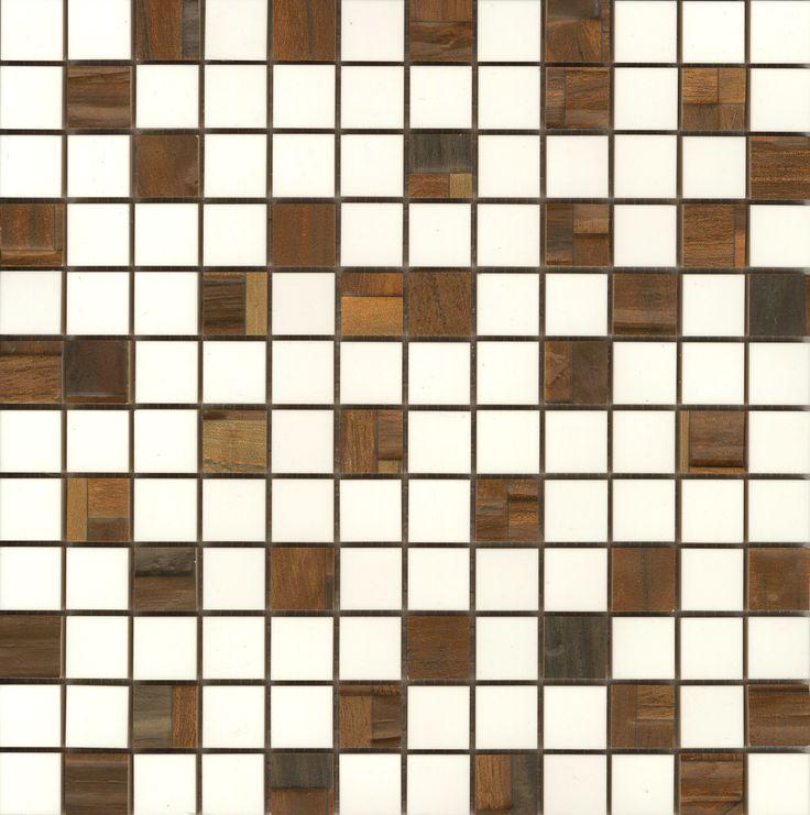 #Aparici #Jungle S-7 Bosco Walnut #Mosaico 2,5x2,5 29,75x29,75 cm   Feinsteinzeug   im Angebot auf #bad39.de 347 Euro/qm   #Mosaik #Bad #Küche
