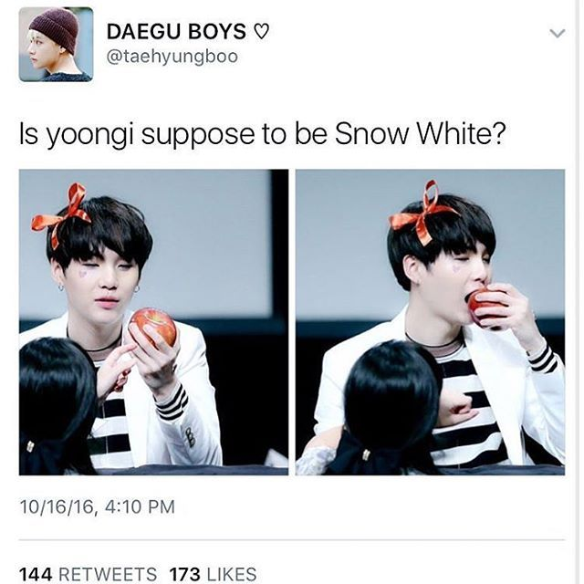 I mean he's pale enough and he has black hair now so