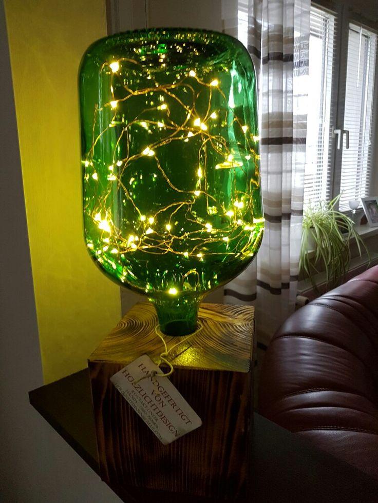 Retrolampe Vintage Stehlampe Modell Weinballon Kaufpreis