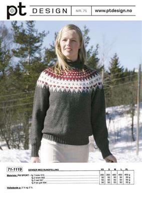 Nydelig genser. Prosjekt 3 på lista :).
