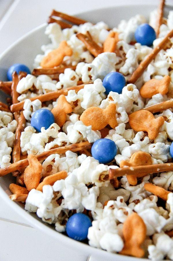 Movie Night Snacks with Goldfish