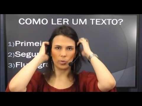 Concurso da INSS 2016 - Interpretação e Compreensão de Textos - Profª Rafaela Motta - Parte 1 - YouTube