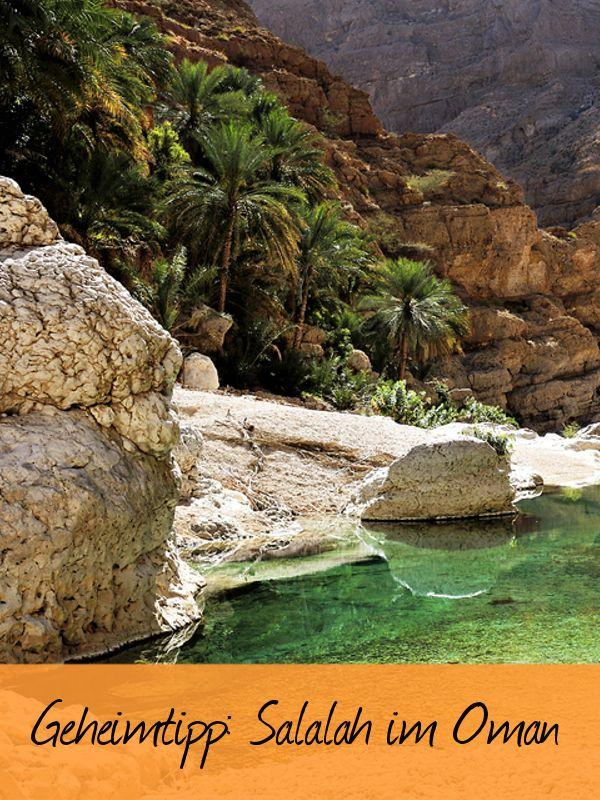 Salalah im Oman ist ein echter Geheimtipp am Indischen Ozean. Traumstrände, Palmen, Wüste, Wadis und vieles mehr.