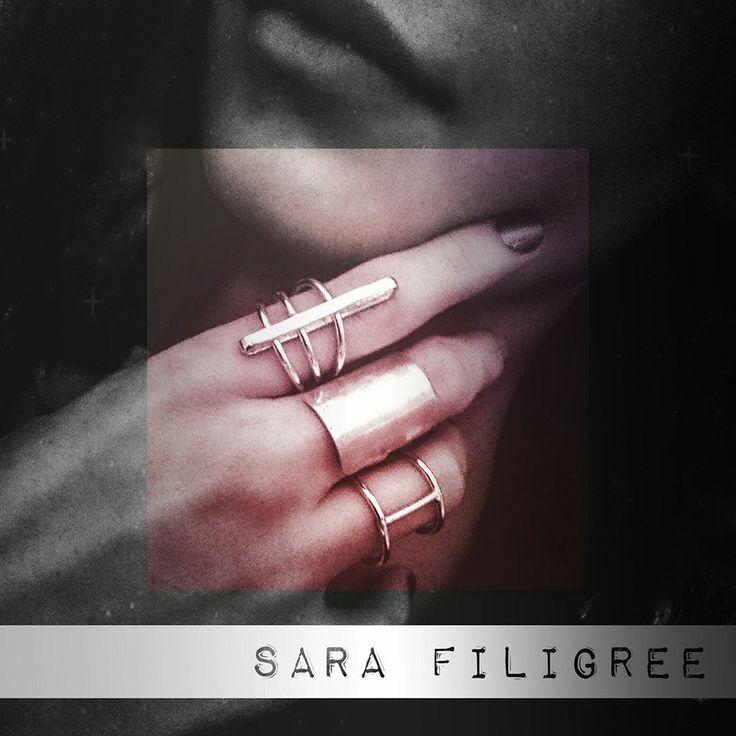 Handmade silver rings...