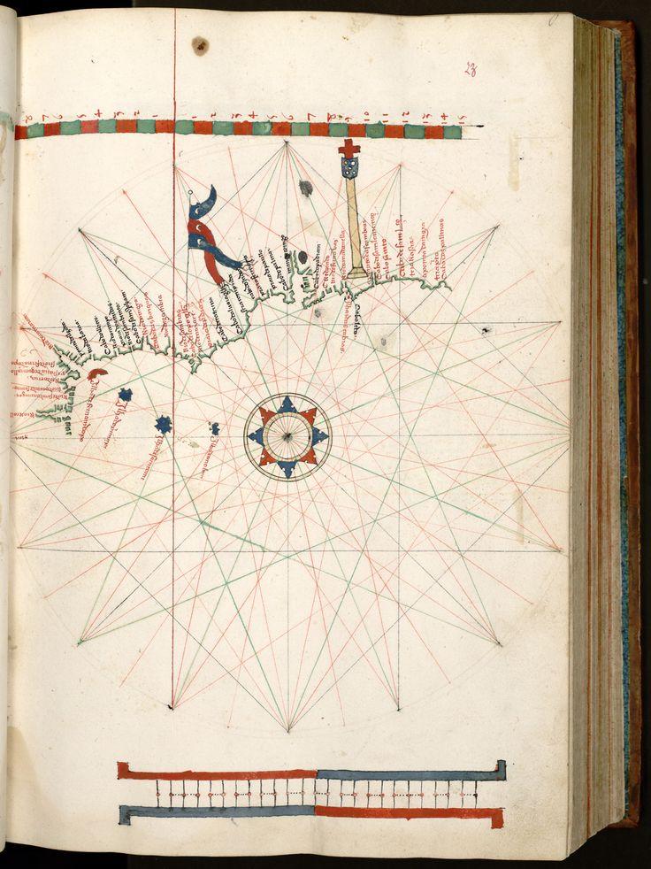AN_ass_nat_ms1248_050 -Francisco Rodrigues (?-1537) - «O livro de Francisco Rodrigues». 1511-1515.  Bibliothèque de la Chambre des Députés, Paris, 1248 ED, 19